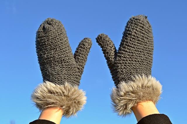 あたたかい手袋