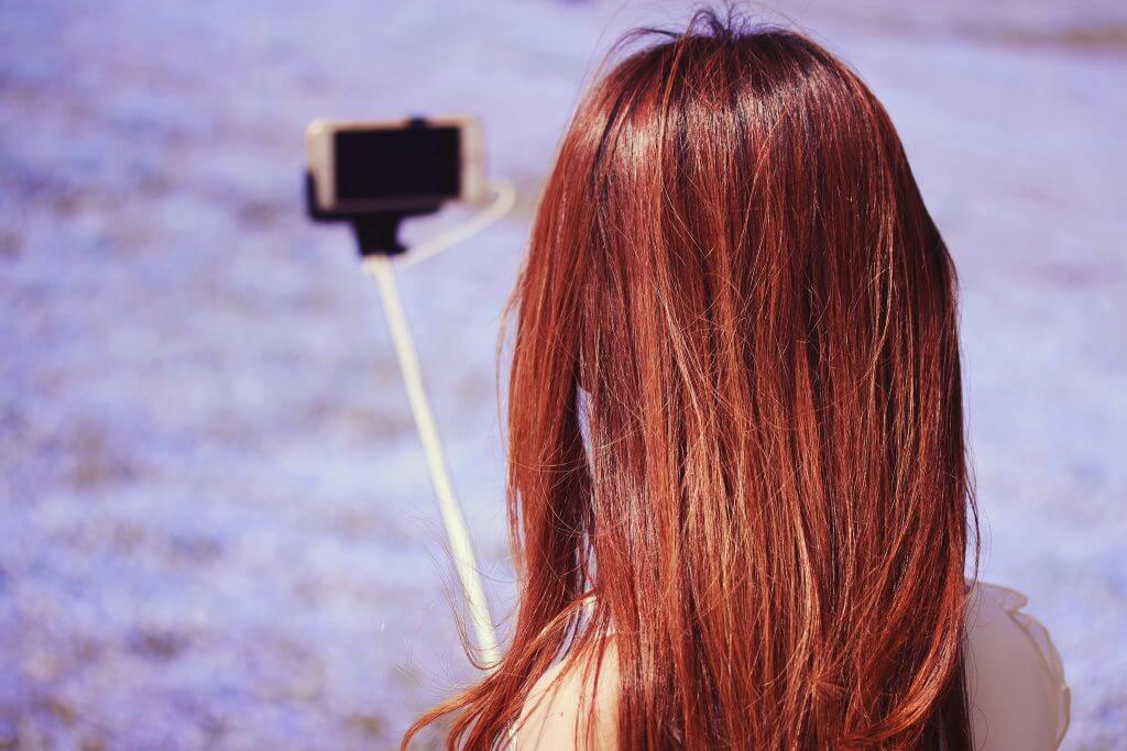 自撮り写真